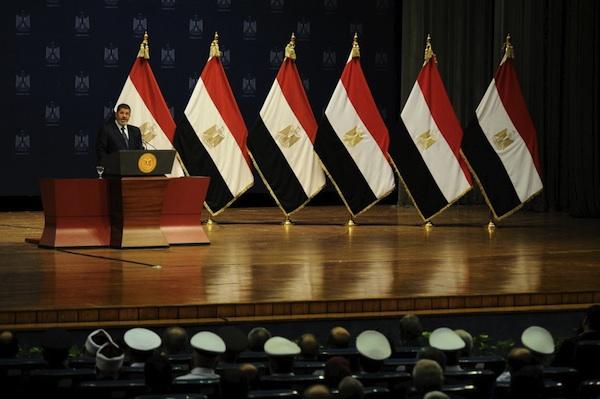 تحليل خطاب مرسي