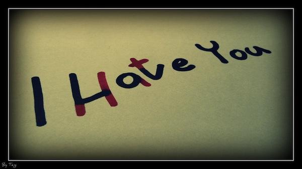 مبحبوش بحبه love Hate